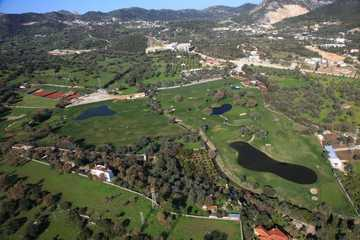 Aerial view of Bodrum Golf Club